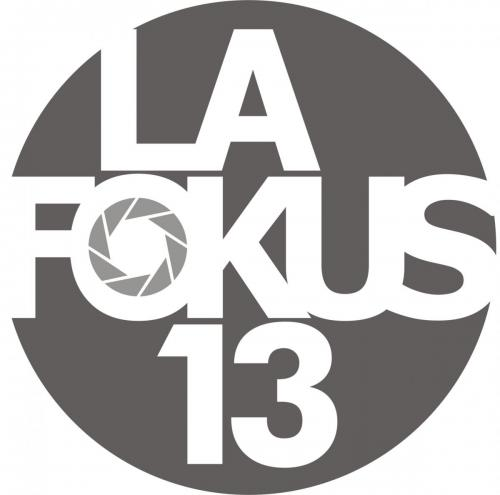 Das ist das Logo von der Fotogruppe LaFokus13 in Landshut