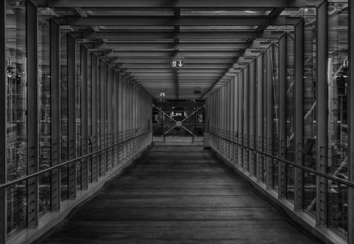 Passage zur Dachterasse 01 hdr