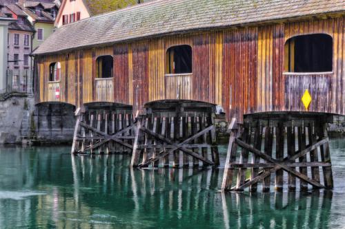 Die Bruecke über den Rhein